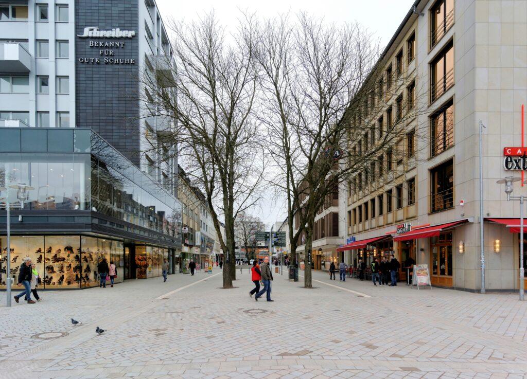 Bild: Bahnhofstraße freigegeben