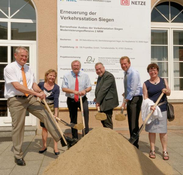 Bild: Modernisierung der Verkehrsstation in Siegen