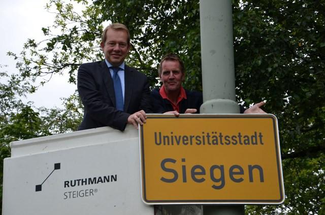 Bild: Endlich: Universitätsstadt Siegen