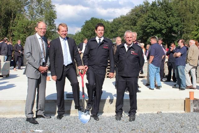 Bild: Neues Feuerwehrgerätehaus für Trupbach und Seelbach