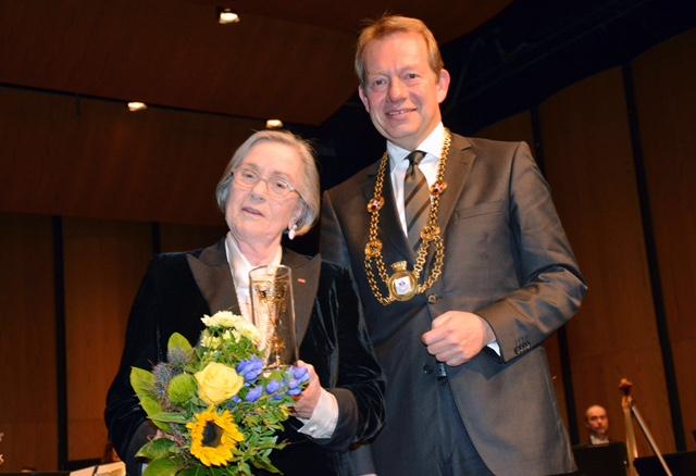 Bild: Siegener Ehrenbürgerin Barbara Lambrecht-Schadeberg
