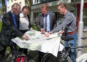 Bild: Neuer Fahrrad-Stadtplan für Siegen erschienen
