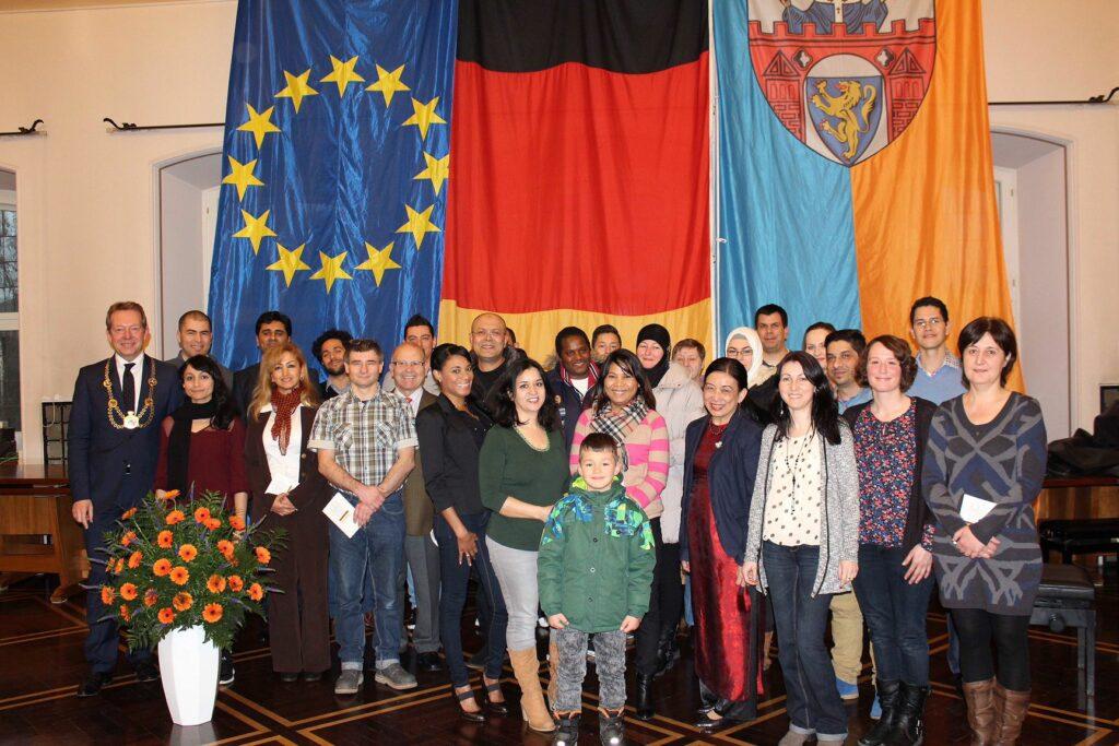 Bild: Bürgermeister begrüßte Neubürger der Stadt Siegen