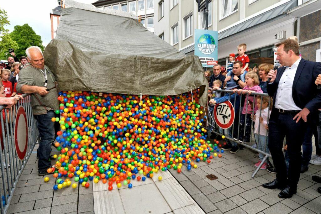 Bild: Bällerennen der ISG Oberstadt