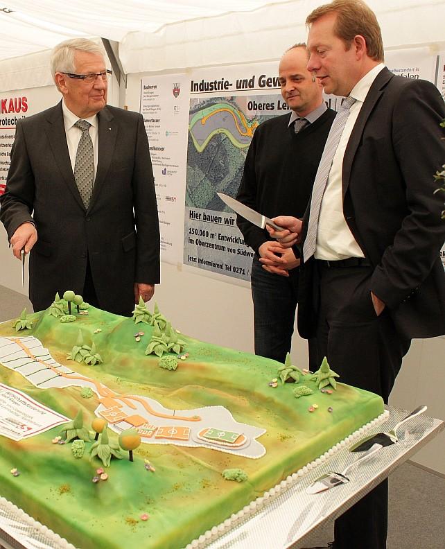 Bild: Gewerbe- und Industriegebiet Martinshardt/Leimbachtal