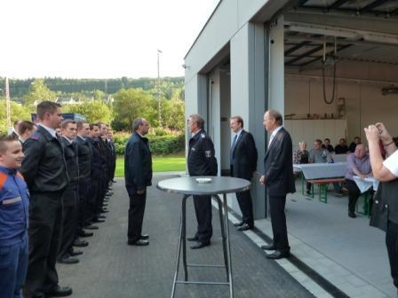 Bild: Neues Feuerwehrgerätehaus in Kaan