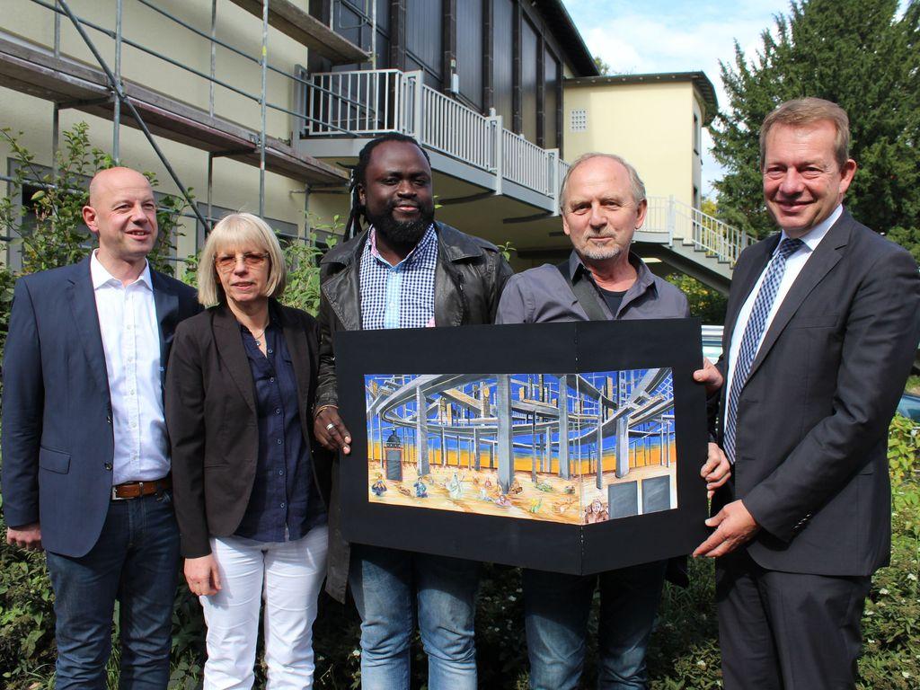 """Bild: In Siegen entsteht eine """"Weltbaustelle"""""""