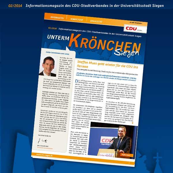 Bild: UNTERM KRÖNCHEN 02/2014