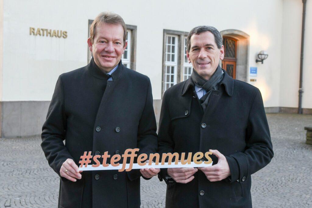 Bild: CDU Siegen setzt weiter auf Bürgermeister Steffen Mues