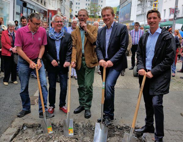 """Bild: Das Siegener Städtebauprojekt """"Siegen zu neuen Ufern"""" geht auf die Zielgrade."""