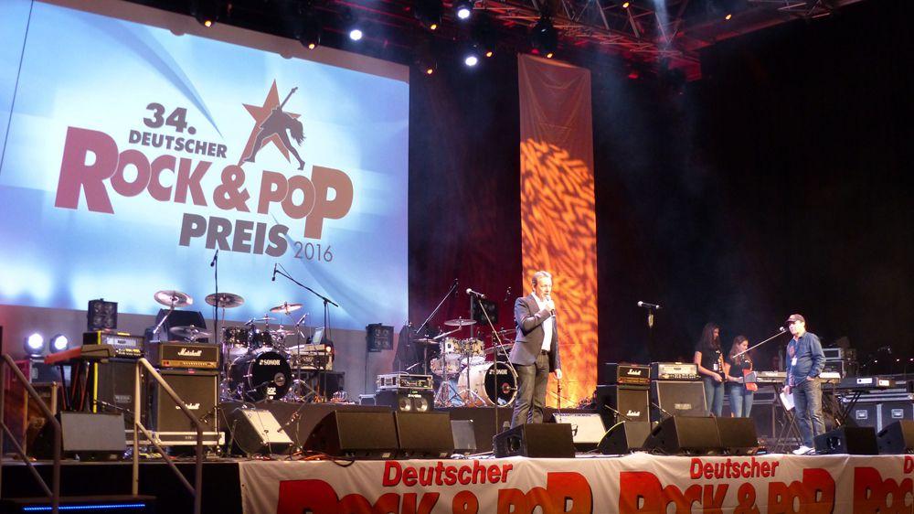 Bild: Deutscher Rock- und Pop-Preis 2016