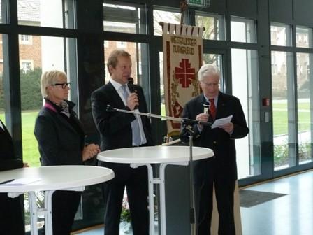 Bild: Steffen Mues bei der Neujahrsmatinee des WTB