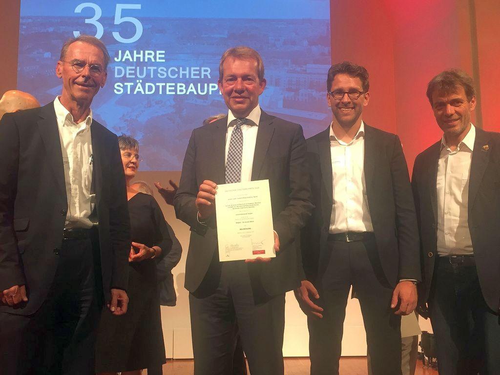 Bild: Stadt Siegen bei Deutschem Städtebaupreis prämiert