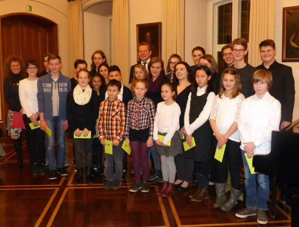 """Bild: """"Jugend musiziert"""": Festliche Ehrung für junge Preisträger"""