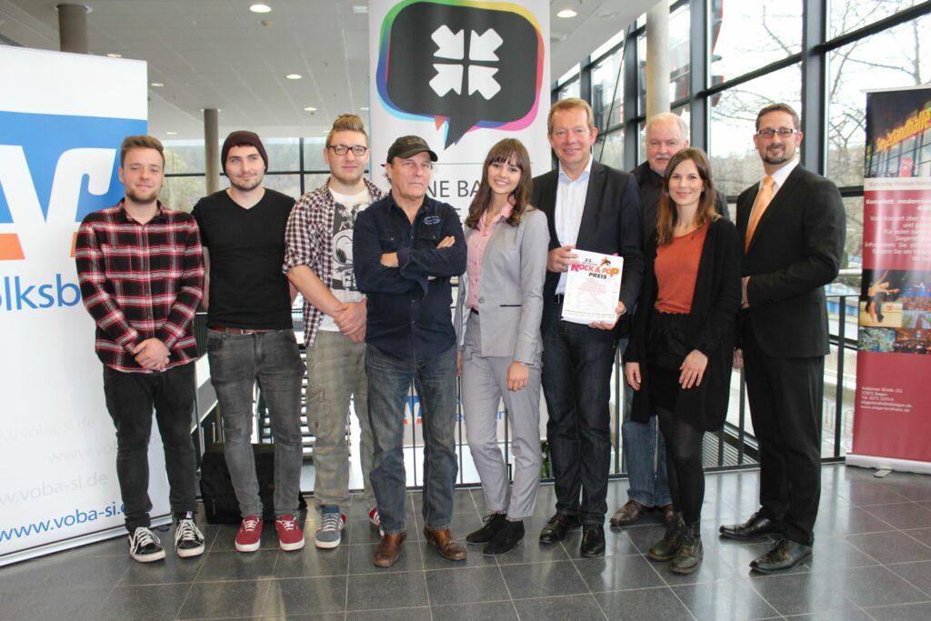 """Bild: """"Deutscher Rock & Pop Preis"""" zu Gast in Siegen"""