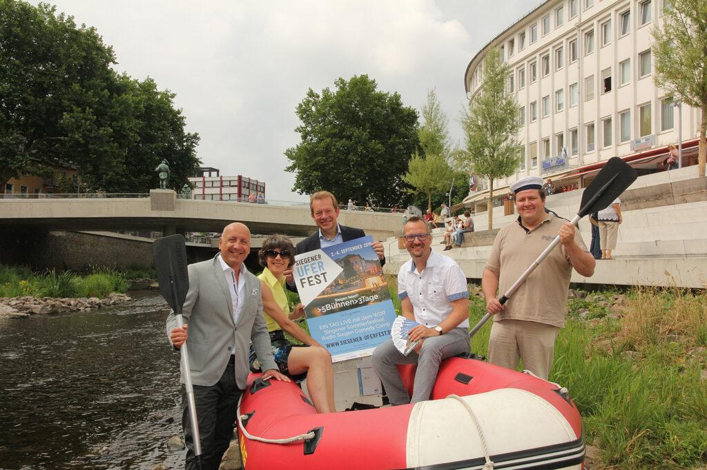 """Bild: In fünf Wochen feiert Siegen das """"Uferfest"""""""