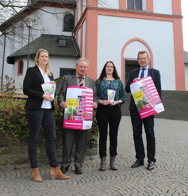 Bild: Stadt Siegen lädt ab April zum Neubürger-Freitag ein