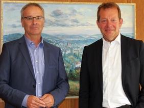 Bild: Hauptgeschäftsführer des Deutschen Städtetags informierte sich in Siegen