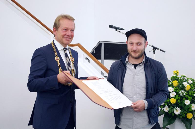 Bild: 7. Förderpreis zum Rubenspreis der Stadt Siegen