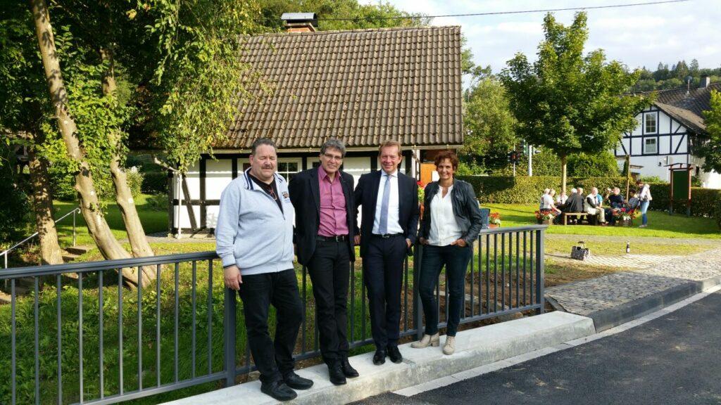 Bild: Brücke Schützenwiese eröffnet