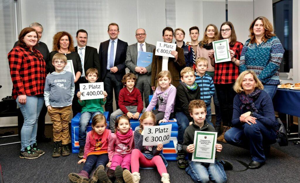 Bild: Pädagogischer Umweltpreis der Stadt Siegen