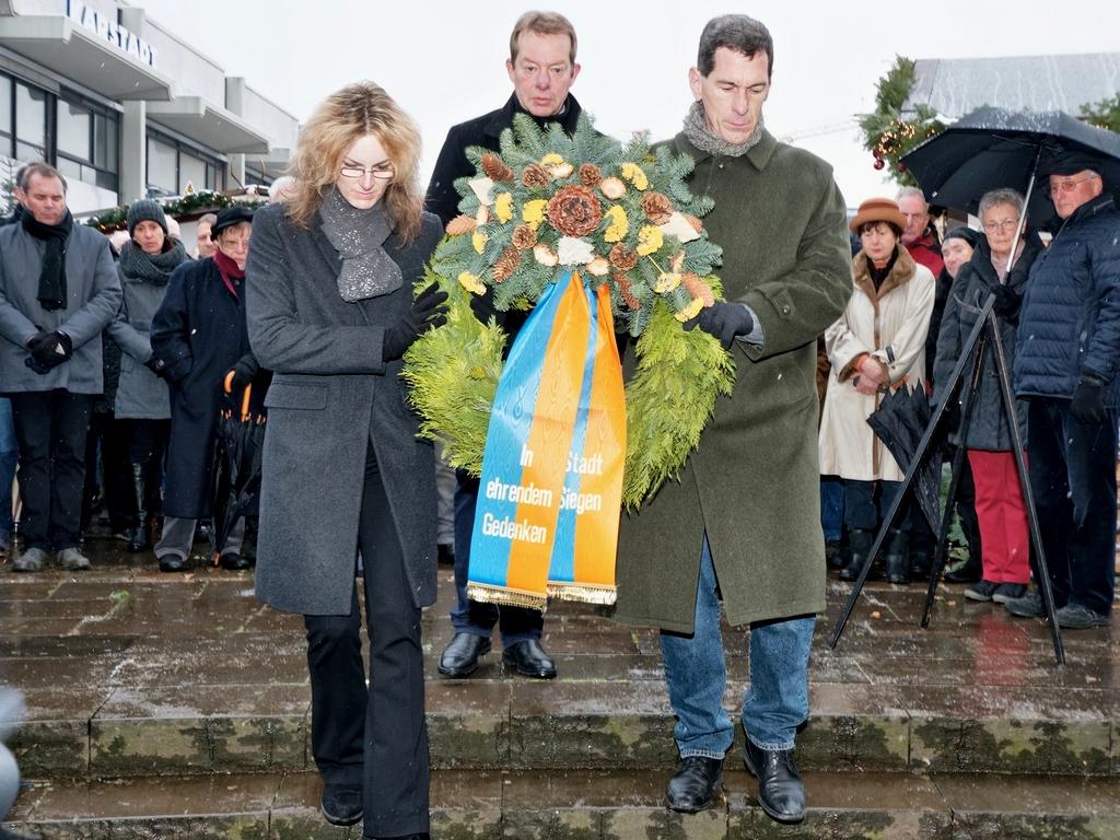 Bild: Siegen gedenkt der Opfer des 16. Dezember 1944