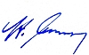 Unterschrift Bürgermeister Steffen Mues