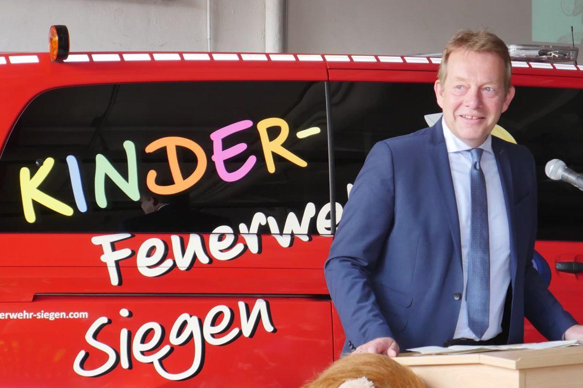 Siegen Eiserfeld Gründung Kinderfeuerwehr Foto Hercher