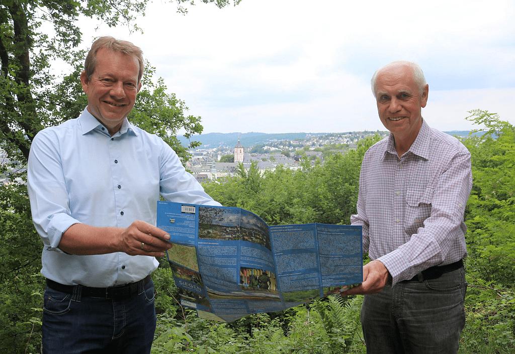 Bild: Jetzt erhältlich: Neue Wanderkarte von Siegen