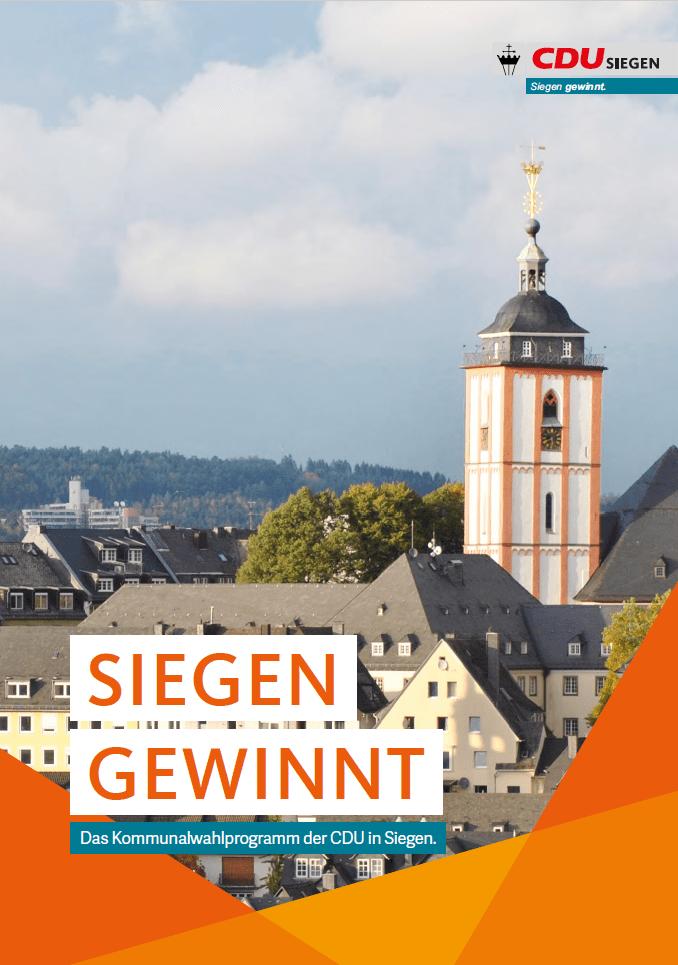 Bild: Kommunalwahlprogramm Siegen 2020