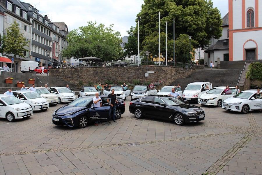 Bild: Stadt Siegen setzt auf Elektromobilität