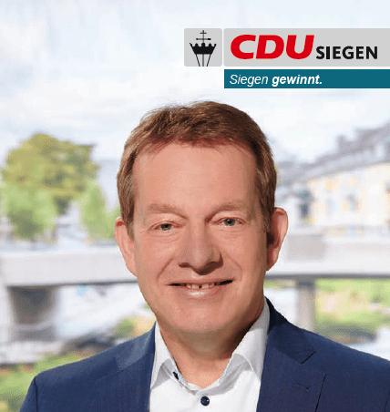 Bild: Bürgermeister Steffen Mues – Kurzinfo