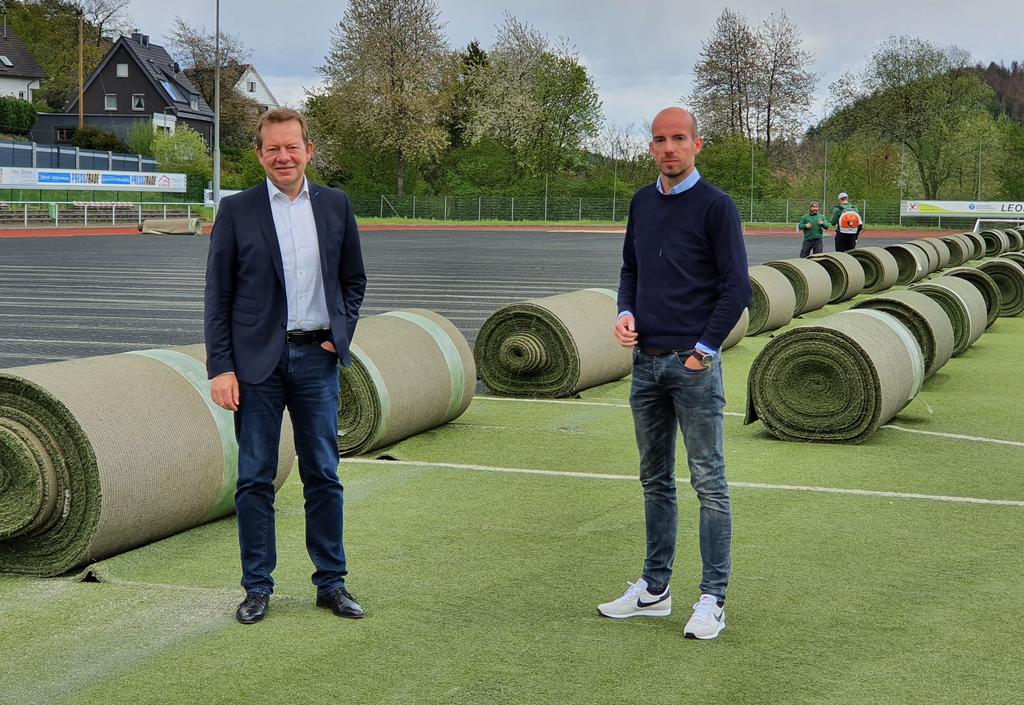 Bild: Sportanlage Trupbach erhält neuen Kunstrasen